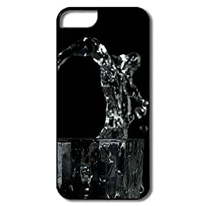 Great Glass Water Splash Case For IPhone 5/5s by lolosakes