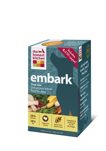 The Honest Kitchen Embark Grain-Free Dehydrated Dog Food, 4-Ounce Trial by Honest Kitchen