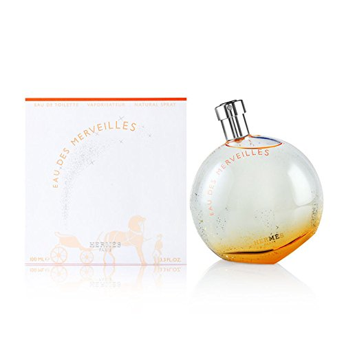 Eau Des Merveilles by Hermes for Women 3.3 oz Eau de Toilette Spray