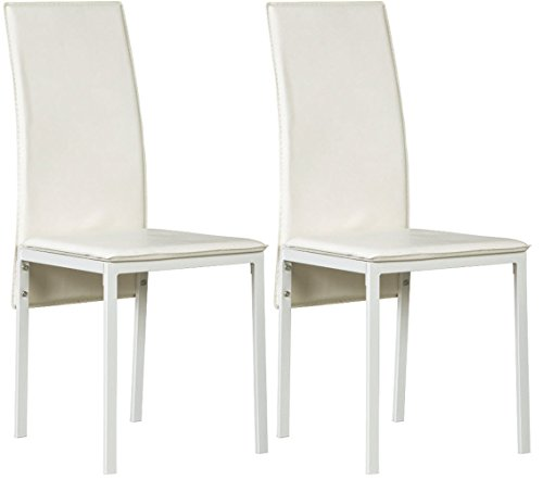 - Signature Design by Ashley D170-02 Sardine Dining-Chair, White