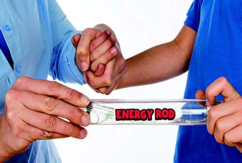 Be Amazing! Toys Energy Rod - Energy Circuit to Help Kids Learn All About Electricity – Science Experiment for Classroom or Home - Science Kit Tube with Flashing LED Light - Energy Tube Ages 4+