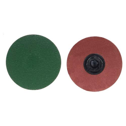 3'' × 1/4'' Zirc Plus R801 Cloth Quick Change Disc Type TP/I 36 Grit Zirconia Alumina (Pack of 50)