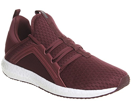 Puma Herren Mega Nrgy Knit Cross-Trainer Tibetan Red White
