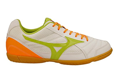 Mizuno - Mizuno Sala Club 2 In Five-a-Side Football White Leather Material 155135 White aLgdUss
