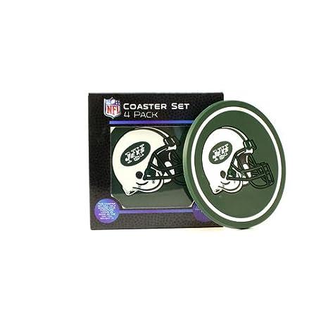 4-Pack The Northwest Company NFL Mens Helmet Logo Coasters