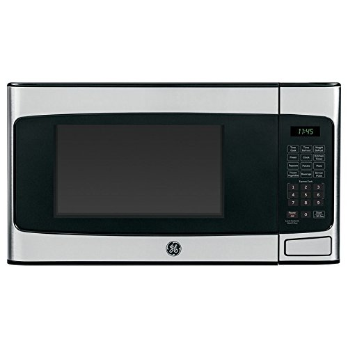 GE 1.1-cu ft 950W Countertop Microwave Oven Stainless Steel