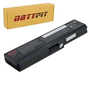 Battpit Bateria de repuesto para portátiles Toshiba Satellite C645D-SP4130L (4400 mah)