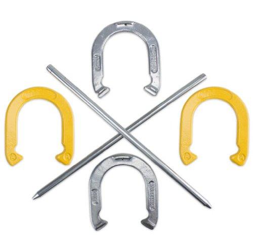 Professional Steel Horseshoe Set with Durable Carrying Case