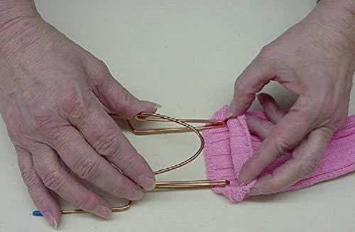 2 Sock Easy Embroidery Machine Hooping Aid/Hoops
