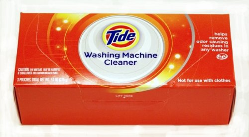 Tide Washing Machine Cleaner, 3-Count Boxes (Pack of 3)