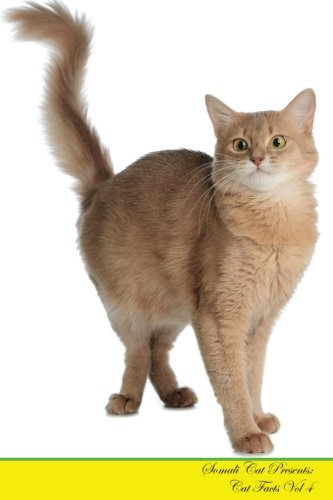 Somali Cat Presents:  Cat Facts Workbook. Somali Cat Presents Cat Facts Workbook with Self Therapy, Journalling, Productivity Tracker with Self ... Productivity Tracker Workbook. Volume 4