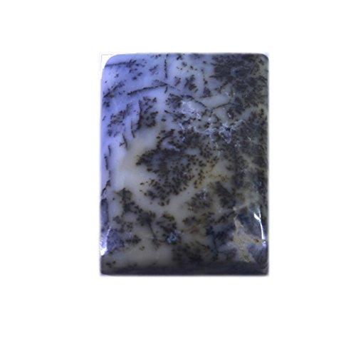 opale dendritique lâche émeraude pierre précieuse coupe cabochon 1 pc 16x23 mm stdeo-280049