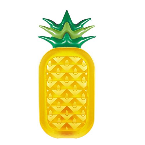 CloverTale Inflatable Pineapple Pool Float Swimming Party Pool Ocean Lounge Raft