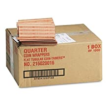 MMF216020016 - MMF Pop-Open Flat Paper Coin Wrappers by MMF Industries