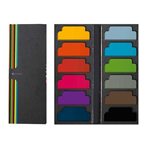 Semikolon Sticky Tab Markers, Assorted Colors (5100002) (Signature Tab)