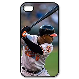 MLB iPhone 4,4S Black Baltimore Orioles cell phone cases&Gift Holiday&Christmas Gifts NADL7B8825372