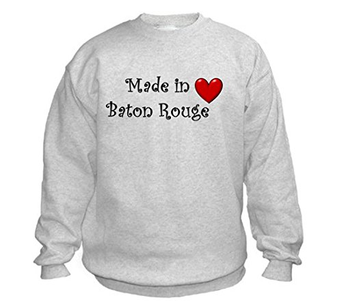 MADE IN BATON ROUGE - City-series - Light Grey Sweatshirt - size XXL]()