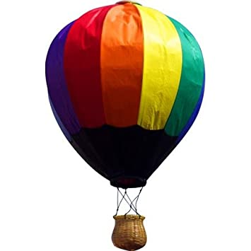 Hot Air Balloon W Wicker Basket Amazon Co Uk Toys Games