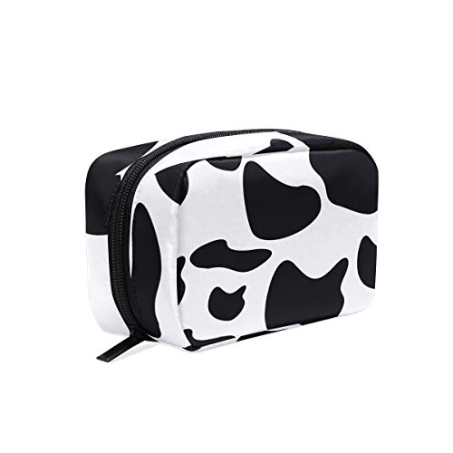 Cow Hanging Travel Makeup Bag Cosmetic Make Up Toiletries Bag Organizer Train Case for Women Girls Travel Storage Bags Cases