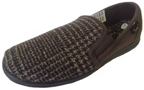 Ubershoes , Herren Hausschuhe Mehrfarbig Brown/Grey Braun