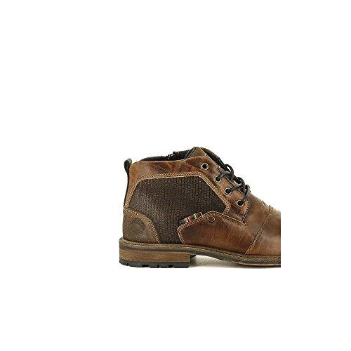 Bullboxer 710-K5-5435A Botas de cordones Hombre marrón, EU 41