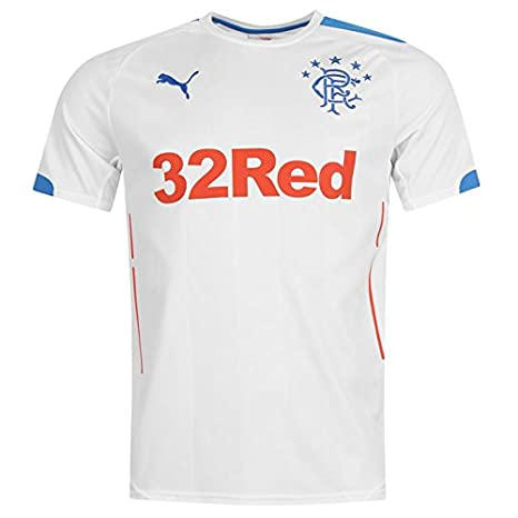 433a0869 Image Unavailable. Image not available for. Color: PUMA 2014-2015 Rangers  Away Football Shirt