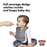 OXO Tot Waterproof Silicone Roll Up Bib with