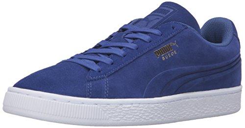 Sneaker Mazarine Blu Puma Uomo Scamosciato Classico Con Impresso Q3 Moda