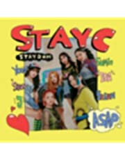 STAYC STAYDOM 2nd single Album. CD+1p FOLDED POSTER+72p Photo Book+1ea Photo Card +1ea Post Card+1ea Sticker+1ea Stayc Official Fragrance Card K-POP SEALED+TRACKING CODE