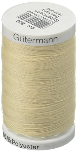 Sew-All Thread 547 Yards-Ivory (Ivory Sewing Thread)