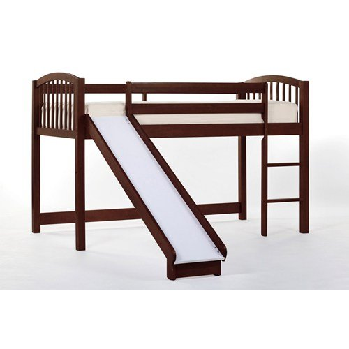 (Hillsdale Furniture 4060N Hillsdale Kids and Teen School House Twin Junior Loft Bed Cherry)