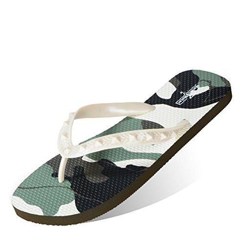 Beach Flip Loafers Slippers GLSHI Flops Shoes Moda B antideslizante Lovers amp; Flat wZU7WZc8q
