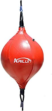 Freahap Double End Speed Ball w/Carabiners Speed Bag Reflex Ball Punch Ball Boxing MMA Training Ball