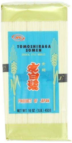 Jfc Dried Tomoshiraga Somen Noodles 16-Ounce (Pack Of 12)