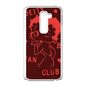 Boop Fan Club Kisses LG G2 Cell Phone Case White DIY Gift xxy002_5051087