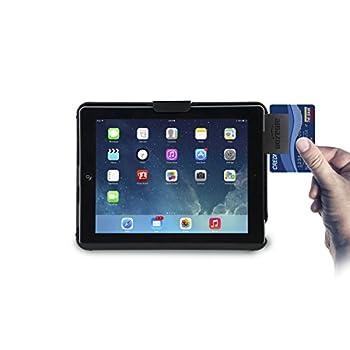 Cta Digital Anti-theft Case With Built-in Stand With Foam Insert For Ipad (1-4), Ipad Gen. 5 (2017), Ipad Air, & Ipad Pro 9.7 Pad-atc 9