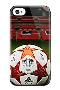MMZ DIY PHONE CASEFor Iphone 4/4s Protector Case Football Phone Cover
