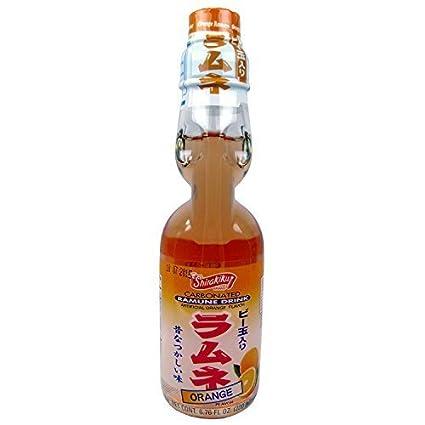 Hata Ramune Orange Soda by Nishimoto Trading Co: Amazon ca