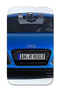 New Fashionable Exultantor Krgdmf-4471-tsewuja Cover Case Specially Made For Galaxy S3(2014 Audi R8 Lmxee )