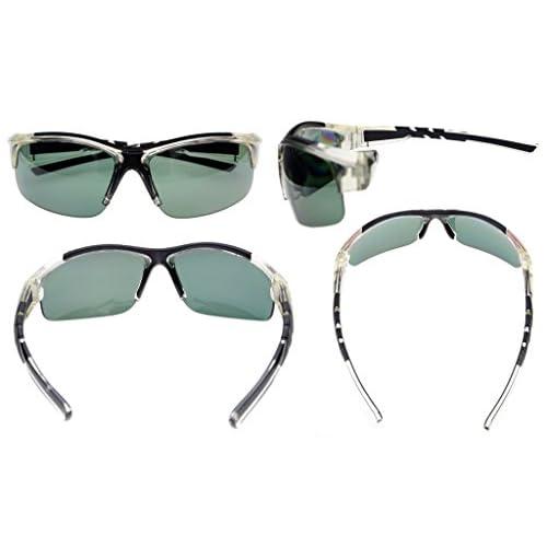 1e77212bde 80% OFF Eyekepper policarbonato Polarized gafas de sol Rimless Béisbol de  pesca de conducción Golf
