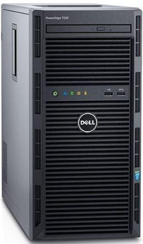 Dell Power Edge T130 Server Xeon E3-1220 v6 3.0 GHz, 8 GB RAM, 1 TB 7.2K HDD (E3-1220 v6) by Dell T130