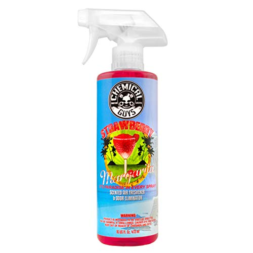 Air Fruit Freshener Summer (Chemical Guys AIR_223_16 Strawberry Margarita Premium Air Freshener and Odor Eliminator (16 oz))