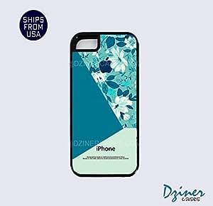 iPhone 5 5s Tough Case - Floral Geometric Black iPhone Cover
