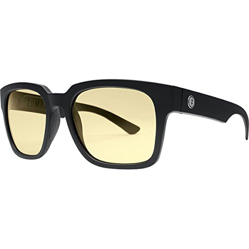 Electric Visual Zombie S Matte Black/OHM+Clear Sunglasses by Electric