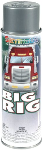 Seymour 20-1660 Big Rig Professional Coatings Spray Paint, Stainless Steel