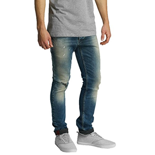 !Solid Joy Stretch - Pantalones Hombre Azul