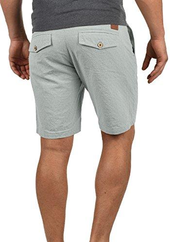 Corti Cintura Uomo 100 Dusty Serge Fit Panno Blend Regular Chino Pantaloncini Blue Con In Shorts Da 74649 Cotone 70fnwxXzw