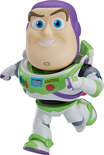 Good Smile Toy Story: Buzz Lightyear Deluxe Nendoroid Action Figure, Multicolor