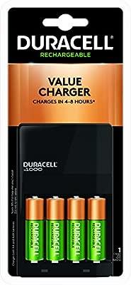 Amazon.com: Duracell Ion velocidad 1000 Cargador de batería ...