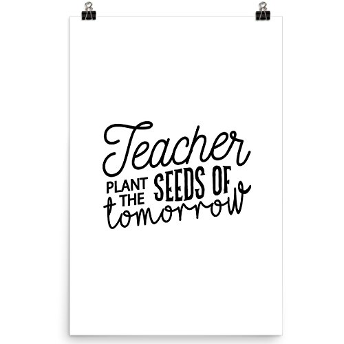 Teacher Plant The Seeds of Tomorrow-Best Teachers Day Gifts